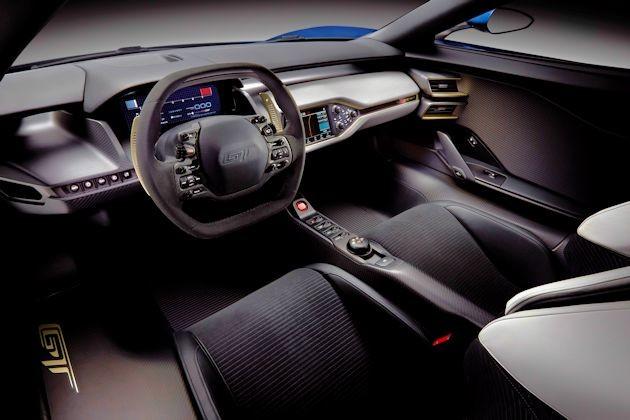2015 NAC Awards Ford GT interior