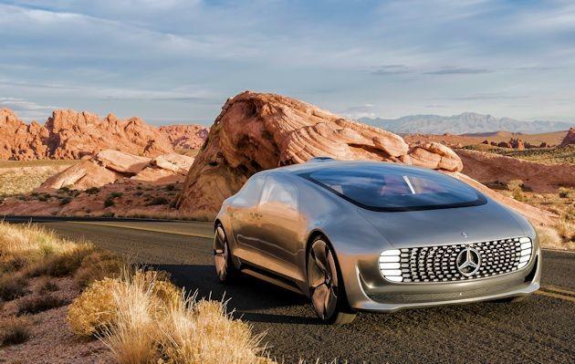 2015 NAC Awards Mercedes F 015 front