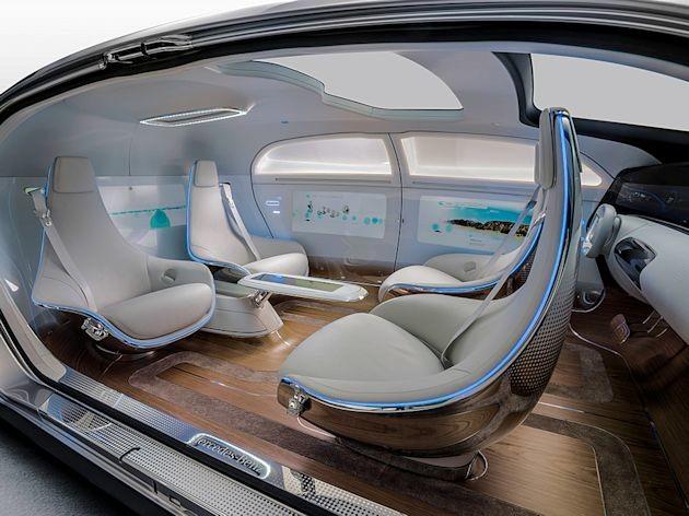 2015 NAC Awards Mercedes F 015 interior