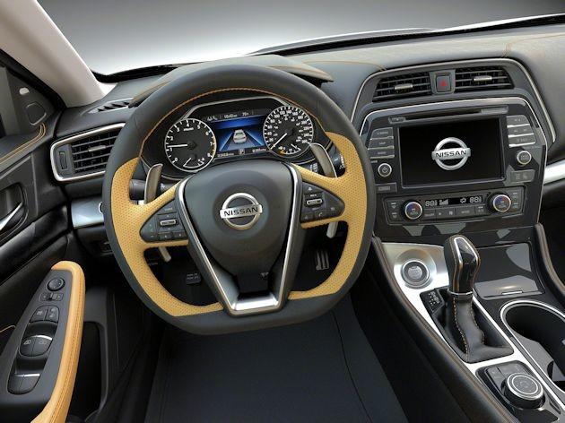 2016 Nissan Maxima dash