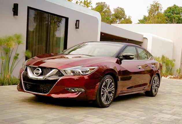 2016 Nissan Maxima front q