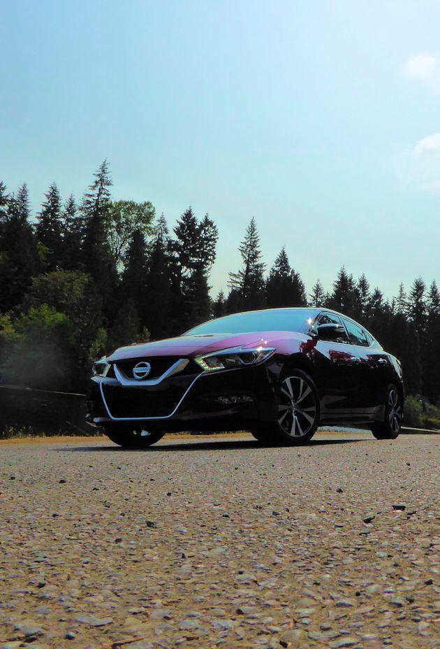 2016 Nissan Maxima Test Drive