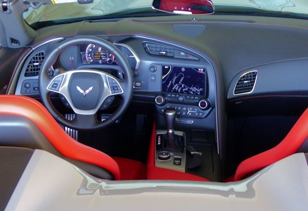 2015 Chevrolet Corvette dash