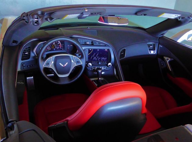 2015 Chevrolet Corvette interior 2