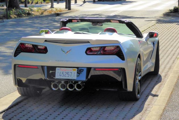 2015 Chevrolet Corvette rear