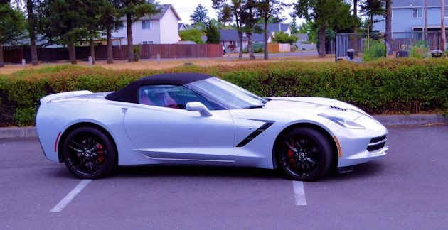 2015 Chevrolet Corvette top up side