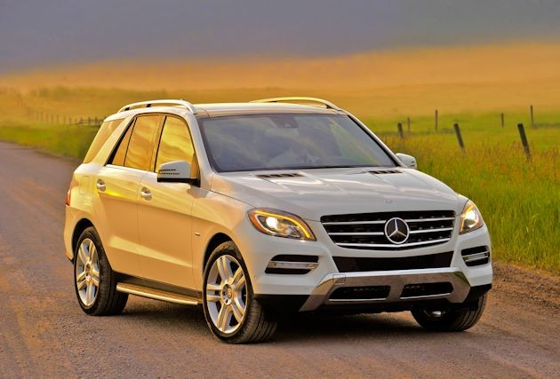 2015 Mercedes-Benz ML front