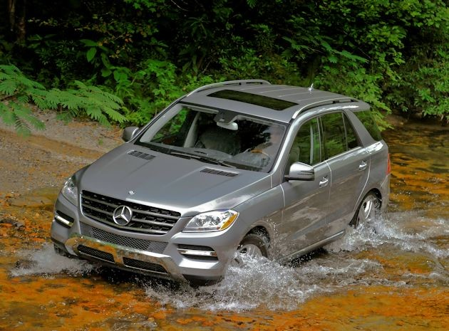 2015 Mercedes-Benz ML water