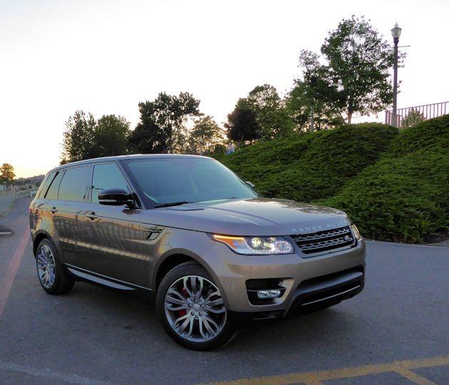 2015  Range Rover Sport front