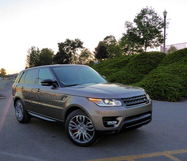 2015 Land Rover Range Rover Sport Test Drive