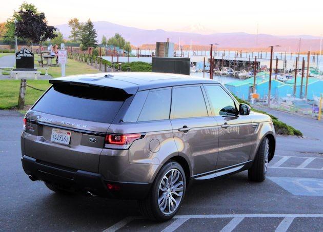 2015  Range Rover Sport rear q2
