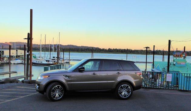 2015 Range Rover Sport side