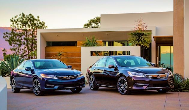 2016 Honda Accord coupe and sedan