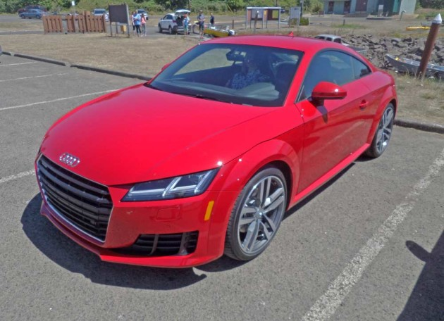 2016 Audi TT Coupe & Roadster Test Drive