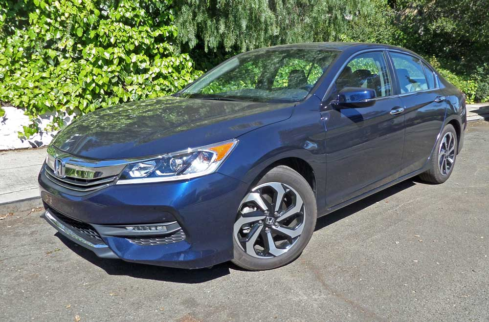 2016 honda accord ex l sedan test drive our auto expert. Black Bedroom Furniture Sets. Home Design Ideas