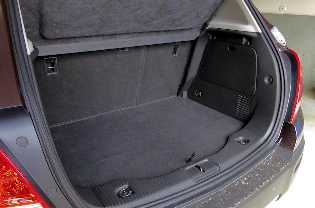 2015 Chevrolet Trax cargo