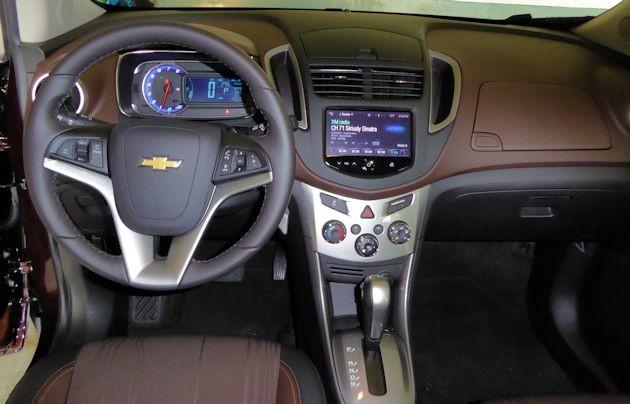 2015 Chevrolet Trax dash