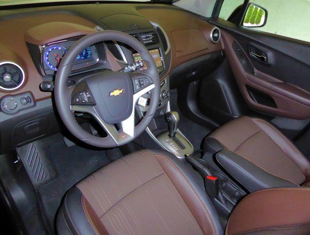 2015 Chevrolet Trax interior 2