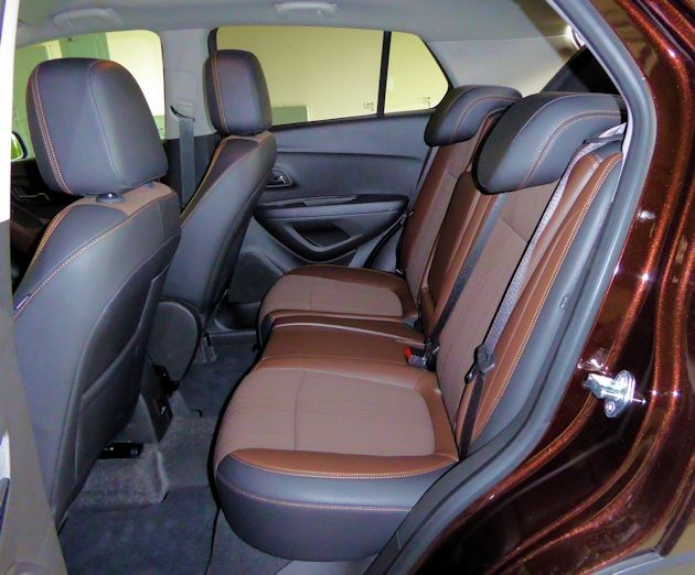 2015 Chevrolet Trax rear seat