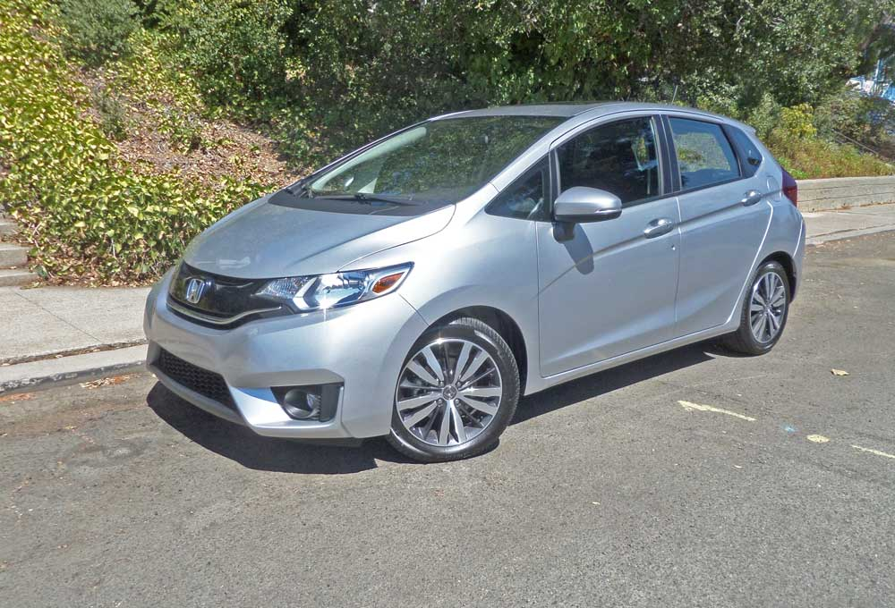 2016 Honda Fit Ex L Navi Test Drive