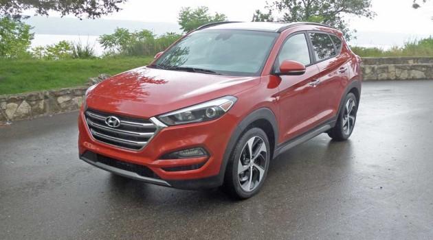2016 Hyundai Tucson Limited AWD Test Drive
