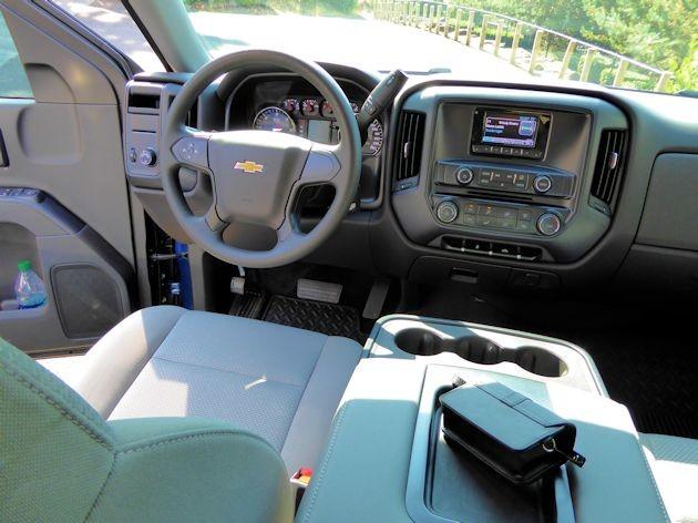 2015 Chevrolet Silverado dash