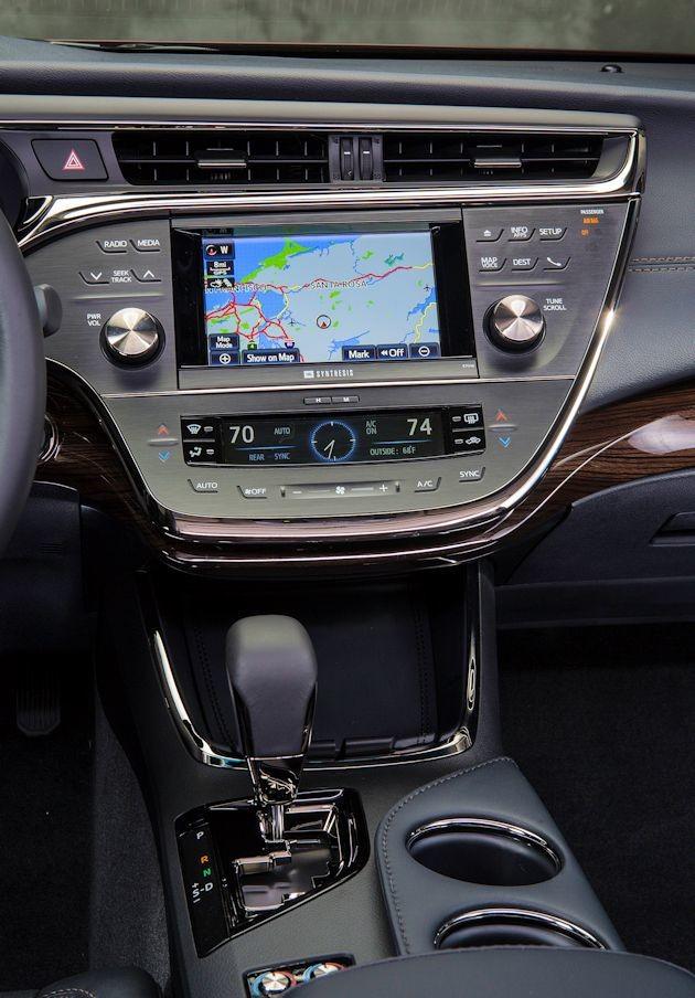 2015 Toyota Avalon center stack