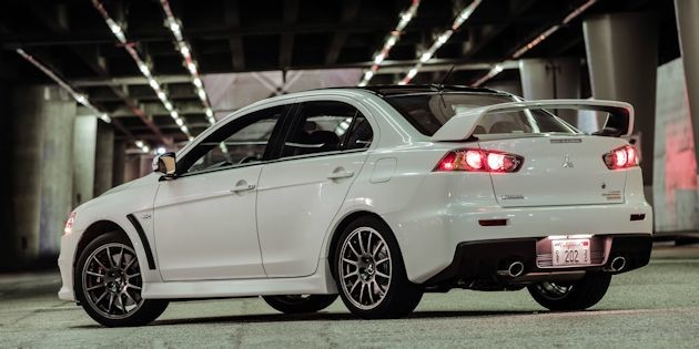 The 2015 Mitsubishi Lancer EVO FE (Final Edition)