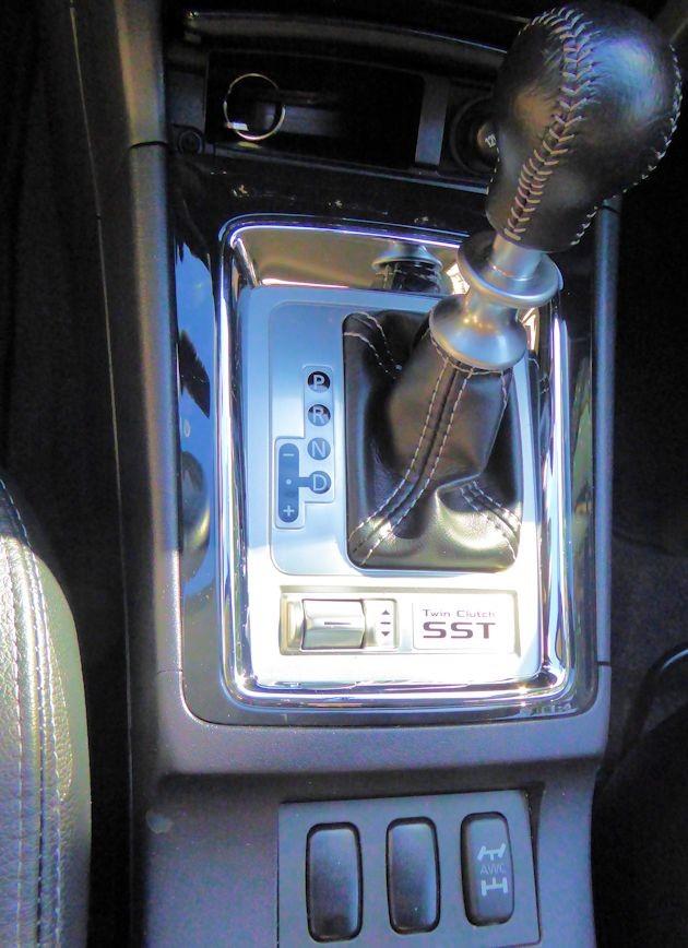 2015 Mitsubishi Lancer EVO shifter