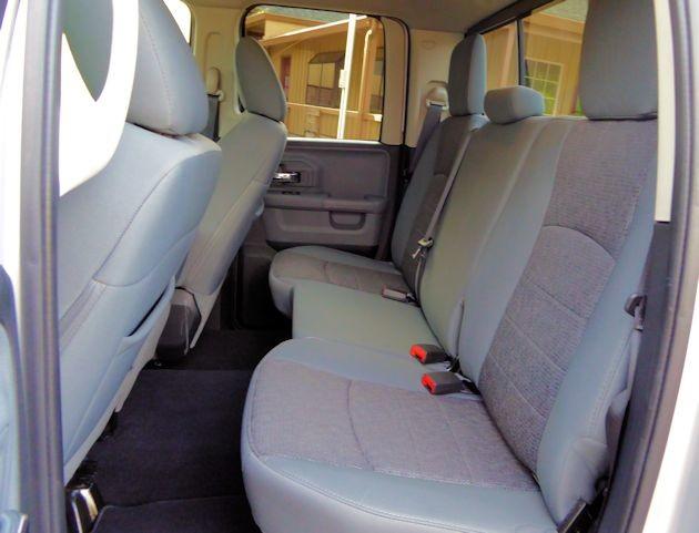 2015 Ram 1500 rear seat