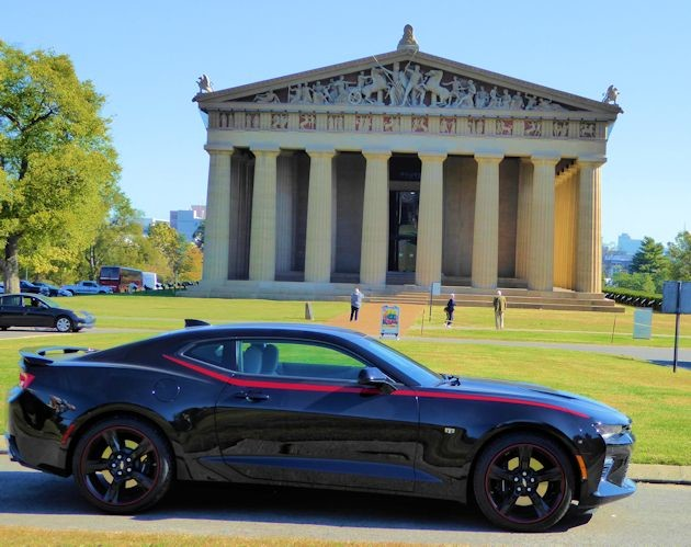 2016 Chevrolet Camaro at the Parthenon