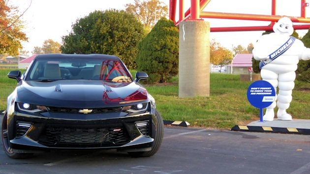 2016 Chevrolet Camaro with Michelin Man