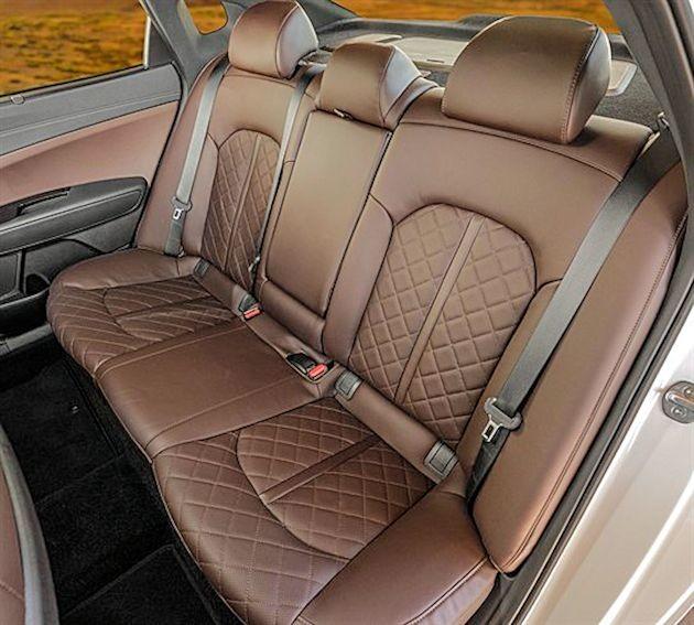 2016 Kia Optima back seat