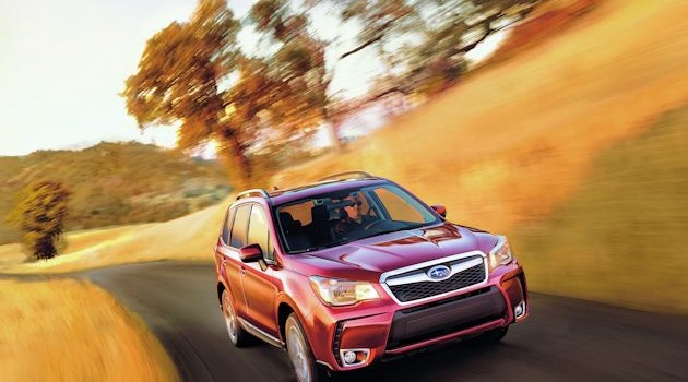 2016 Subaru Forester Test Drive