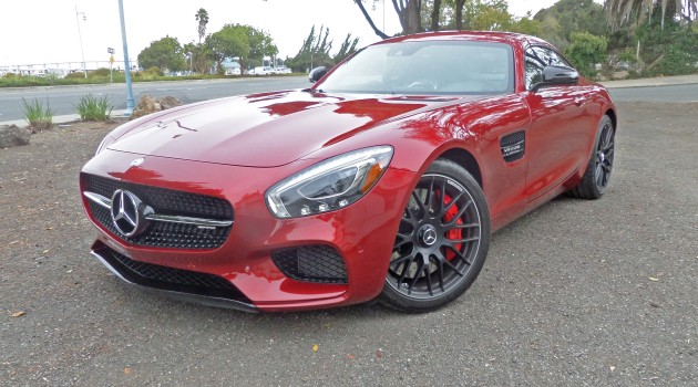 2016 Mercedes-Benz AMG GT S Coupe Test Drive
