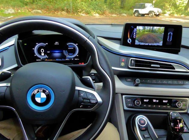 2016 BMW i8 dash