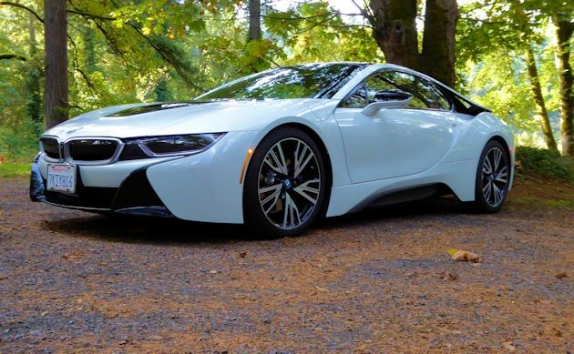 2016 BMW i8 front q2