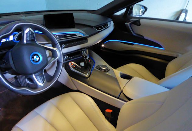 Bmw i8 test drive our auto expert for Interior accent lights for cars