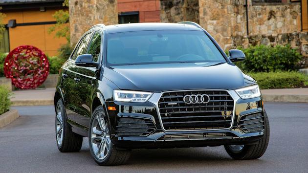 2016 Audi Q3 front 2