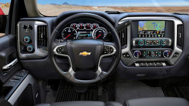 2016 Chevrolet Silverado dash