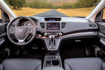 2016 Honda CR-V dash