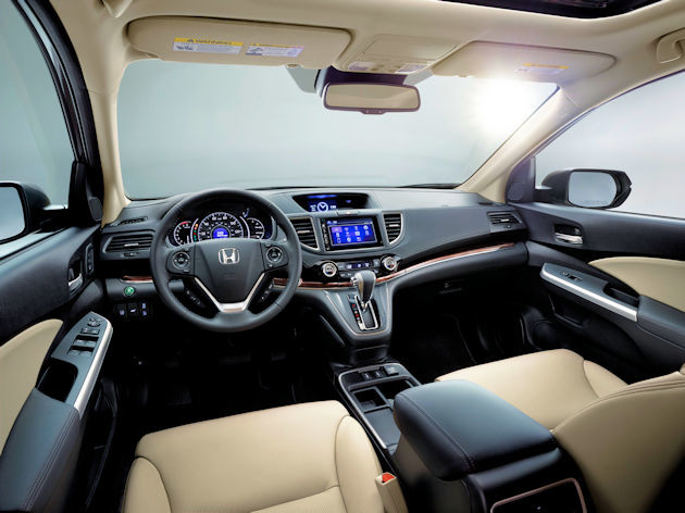 2016 Honda CR-V interior 2