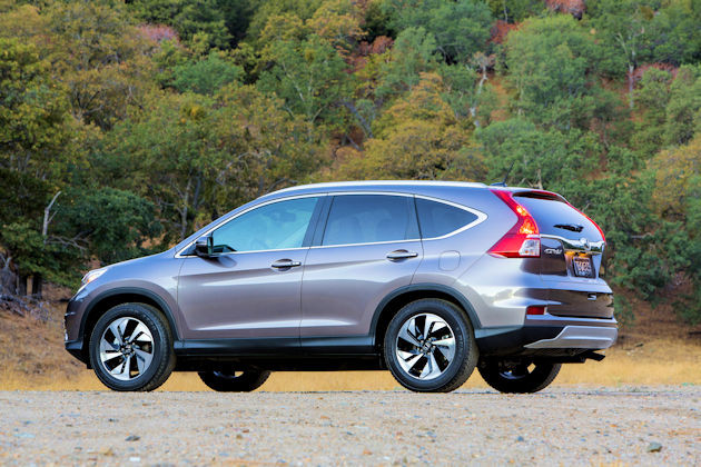 2016 Honda CR-V rear q