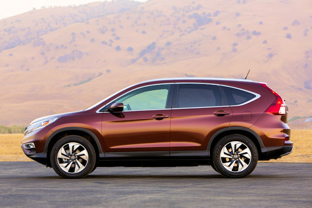 2016 Honda CR-V side 2