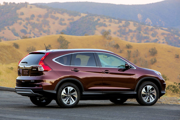 2016 Honda CR-V side
