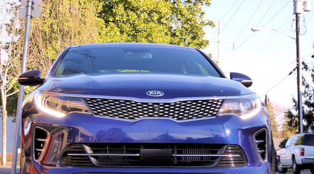 2016 Kia Optima Test Drive
