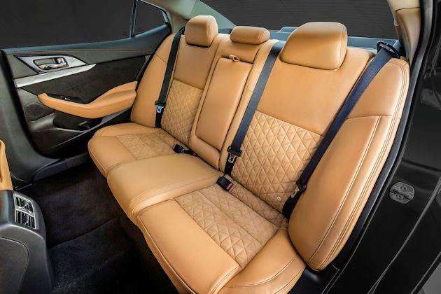 2016 Nissan Maxima rear seat