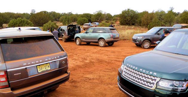 2016 Range Rover Diesels - group