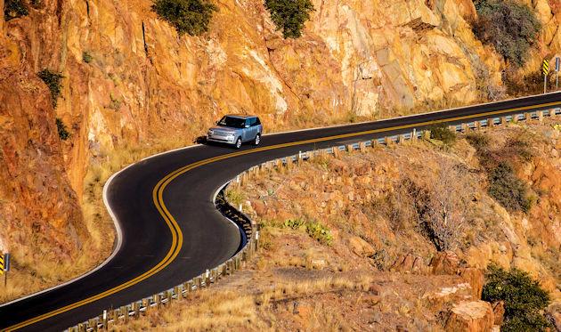 2016 Range Rover highway