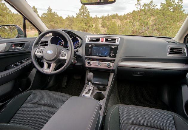 2016 Subaru Outback interior